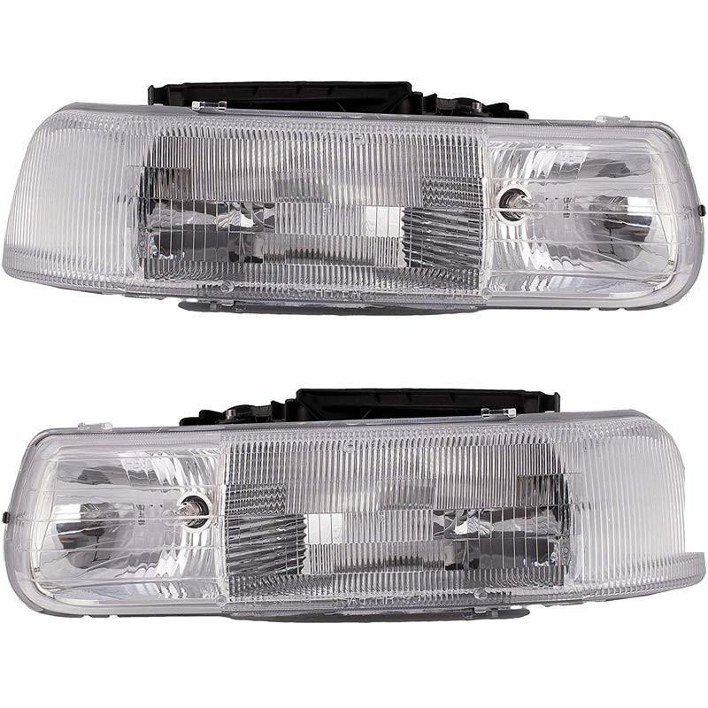 Chevrolet Silverado Tahoe Headlight Assembly (Pair)