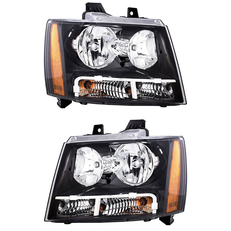 Chevrolet Avalanche Tahoe Suburban Headlight Assembly (Pair)