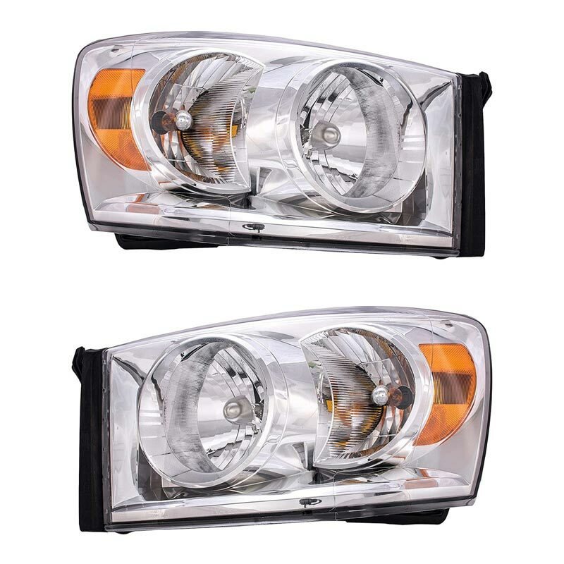 Dodge Ram Headlight Assembly (Pair)