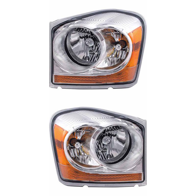 Dodge Durango Headlight Assembly (Pair)