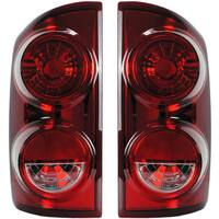 Dodge Ram Tail Light Assembly 55277303AA 55277302AA (Pair)
