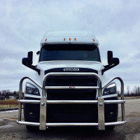 Freightliner Cascadia Ali Arc Bolt-On Grill Guard (2018+ New Body Style)