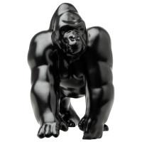Matte Black Gorilla King Truck Hood Ornament