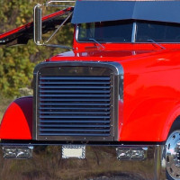 Freightliner Classic FLD Front Grill with Louvers