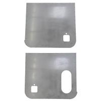 Peterbilt 2005 & Earlier Aluminum Door Skin (Pair)