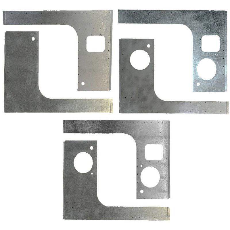 Peterbilt 2005+ Aluminum Cab Skin (Options)