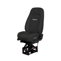 Bostrom HiPro Pro Ride Seat High Back Black Ultra-Leather