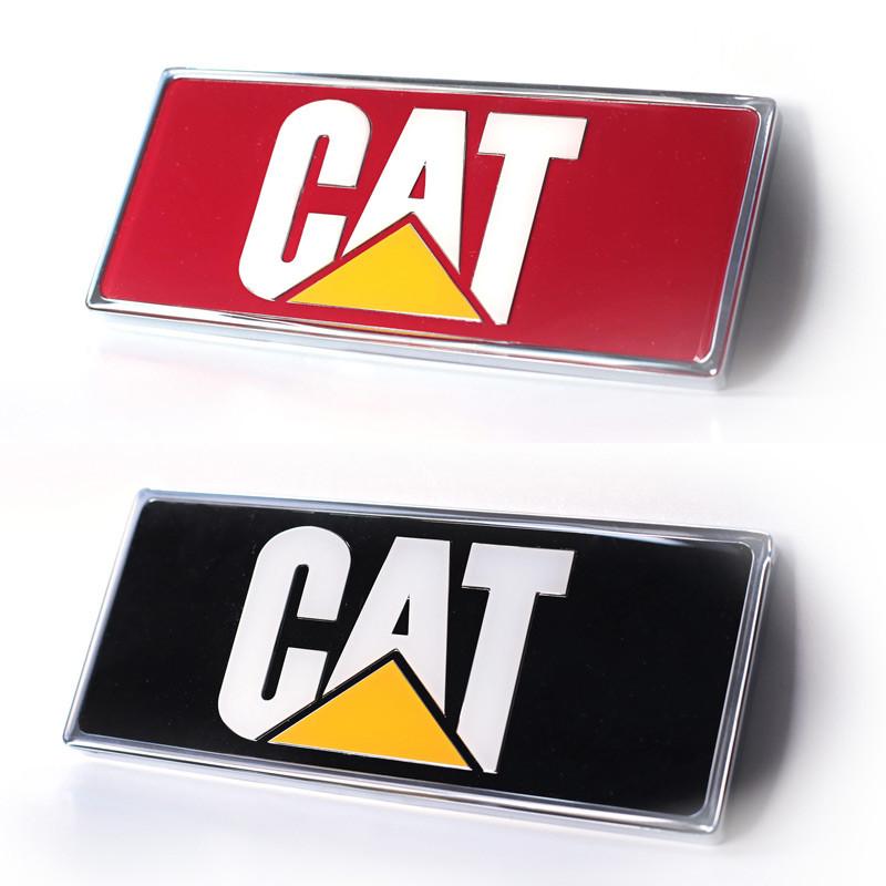 Peterbilt Caterpillar Rectangular Logo Emblem Options