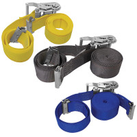 "2"" E-Track Ratchet Tie Down Strap Assembly"