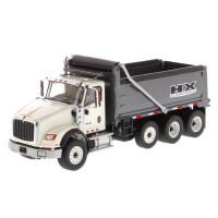 International HX620 Dump Truck With Gun Metal Grey Dump Bed