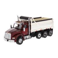 Kenworth T880 SBFA Dump Truck With Chrome Plated Dump Bed