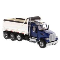 Peterbilt 567 Dump Truck With Chrome Plated Dump Bed