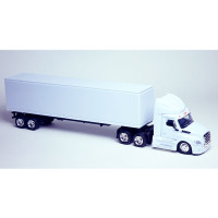 Freightliner Cascadia New Body Style Day Cab With Trailer