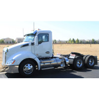 """Kenworth T680 T880 11"""" Replacement Drop Visor For Factory Stainless Side"""