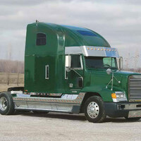 Freightliner FLD Center Fairing Trims
