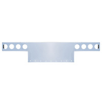 """45"""" Wide Universal Rear T-Bar & Panel With Light Cut Out"""