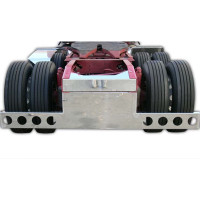 """34"""" Wide Universal Rear T-Bar & Panel With Light Cut Outs"""