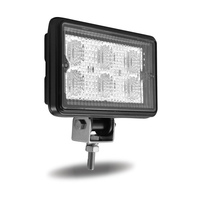 Rectangular 6 Diode Flood LED Work Light