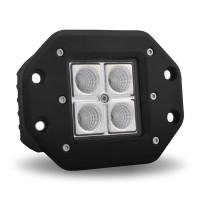 Surface Mount Octagon Combination LED Spot & Flood Work Light