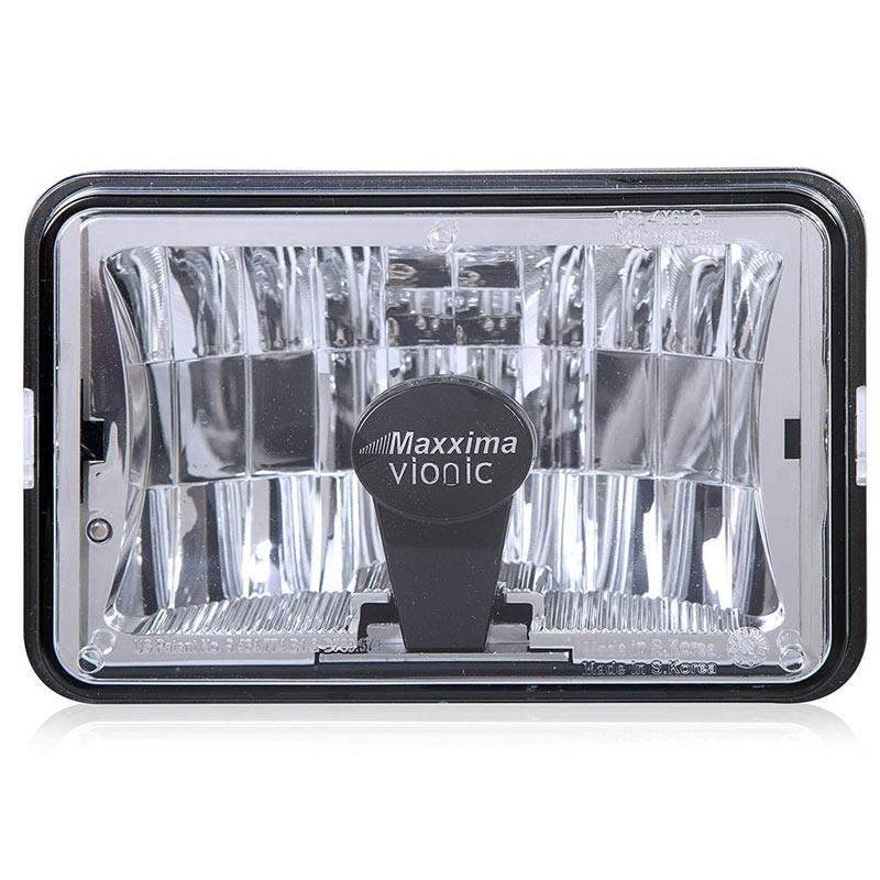 """4"""" X 6"""" Vionic Heated LED Low Beam Headlight Maxx Heat Lens By Maxxima"""