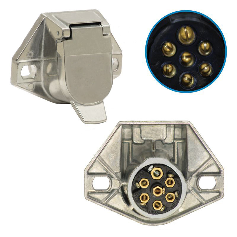 7 Pin Plug Socket