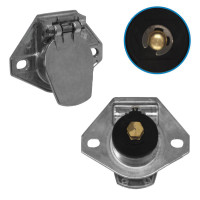Air And Electrical Single Pole Socket
