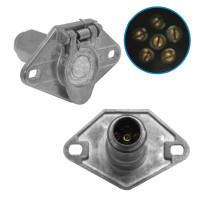 6 Pin Plug Socket 821015 BE23602 421136