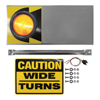 Amber Wide Turn Signal Light (Incandescent)