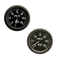Semi Truck Electric Tachometer Gauge By ISSPRO
