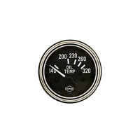 Semi Truck Electric Oil Temperature Gauge By ISSPRO