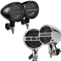 Power Acoustik Bluetooth Motorcycle Handlebar Speakers