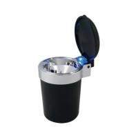 RoadPro Self-Extinguishing Blue LED Ashtray