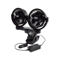 RoadPro Dual Fan With Mounting Clip