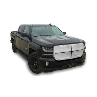 Pickup Truck Quilted 2-Zip Winter Front By Robert James - White