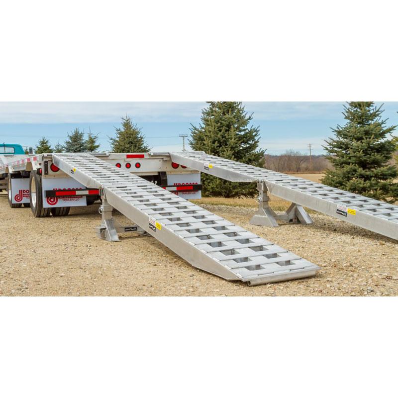 Aluminum Load Leveler Ramp Kit By Heavy Duty Ramps - Ramp Full View