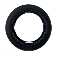 "Rubber Grommets Black 2-1/2"" Round"