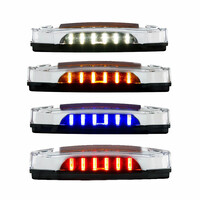 12 LED Rectangular Amber Clearance Marker Light - Showcase