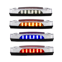 12 LED Rectangular Red Clearance Marker Light - Showcase