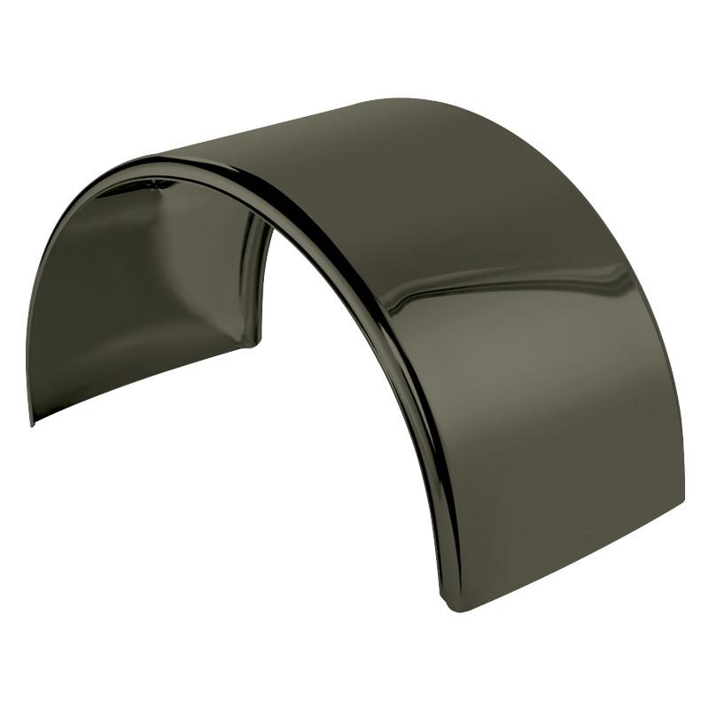 Dark Knight Titanium Stainless Steel Single Axle Fenders