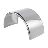 Lift Axle Stainless Steel Single Axle Fenders - Default