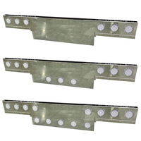 Universal Rear T-Bar & Panel With Light Cut Outs By Iowa Customs - Default