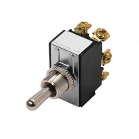 Heavy Duty DPDT Toggle Switch - Default