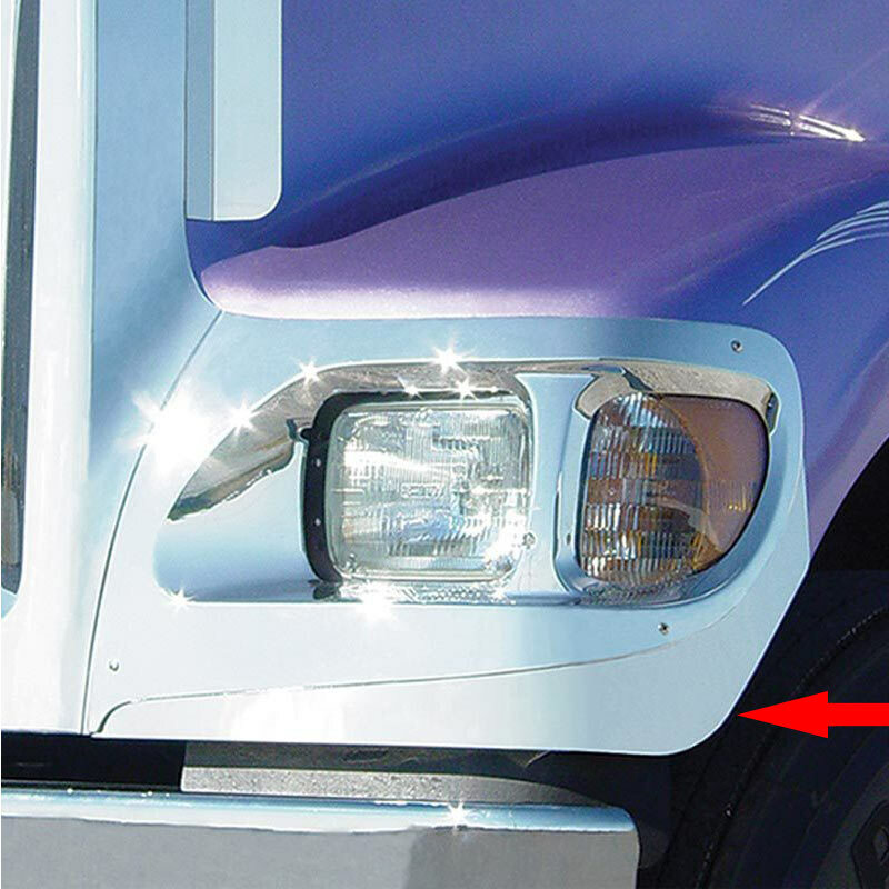 International 9900I IX Lower Headlight Trims