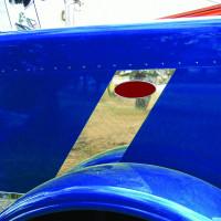 Peterbilt 389 Hood Emblem Stripe Accent 2007+