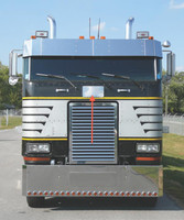 Peterbilt 362 COE Above Grill Hinged Door For Logo Replacement By RoadWorks