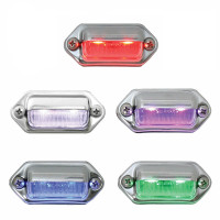 2 LED Step And License Plate Light
