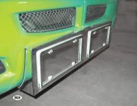 Kenworth T660 Double License Plate / Tag Holder