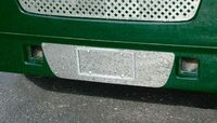 Kenworth T2000 Single License Plate Holder