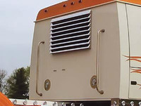 Western Star Louver-Style Rear Window Shade 9 Louvers By RoadWorks