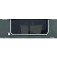 """Peterbilt Sleeper/Day Cab Rear Window Trim 37.25"""" X 20.375"""" Window By Roadworks"""